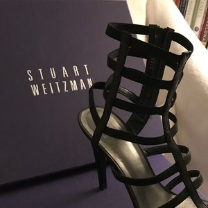Stuart Weitzman Gladiator Heeled Sandals